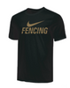 Nike Youth Fencing Tee - Gold/Black