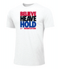 Nike Men's Weightlifting Believe Heave Hold Tee - White