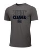 Nike Men's Weightlifting Clean and Jerk Tee - Grey