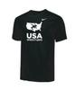 Nike Men's USA Wrestling Tee - Black/White