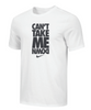 Nike Men's Wrestling Can't Take Me Down Tee - White