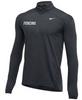 Nike Men's Fencing 1/2 Zip Top - Charcoal