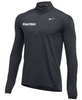Nike Men's Volleyball 1/2 Zip Top - Charcoal
