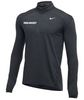 Nike Men's Field Hockey 1/2 Zip Top - Charcoal