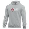 Nike Men's USA Wrestling Olympic Trials Hoodie - Heather Grey