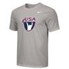 Nike Men's USA Weightlifting  Tee - Grey