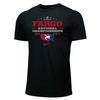 Nike Men's USA Wrestling Championships Fargo 2021 Tee - Black/Red
