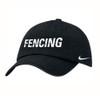 Nike Fencing Heritage Cap - Black/White