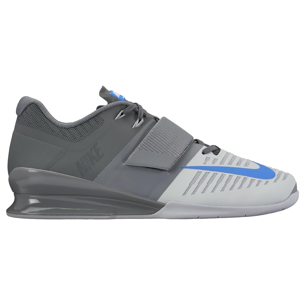 a23f4f871ec0 Nike Romaleos 3 Weightlifting Shoes - Cool Grey/RCR BL/Wolf Grey