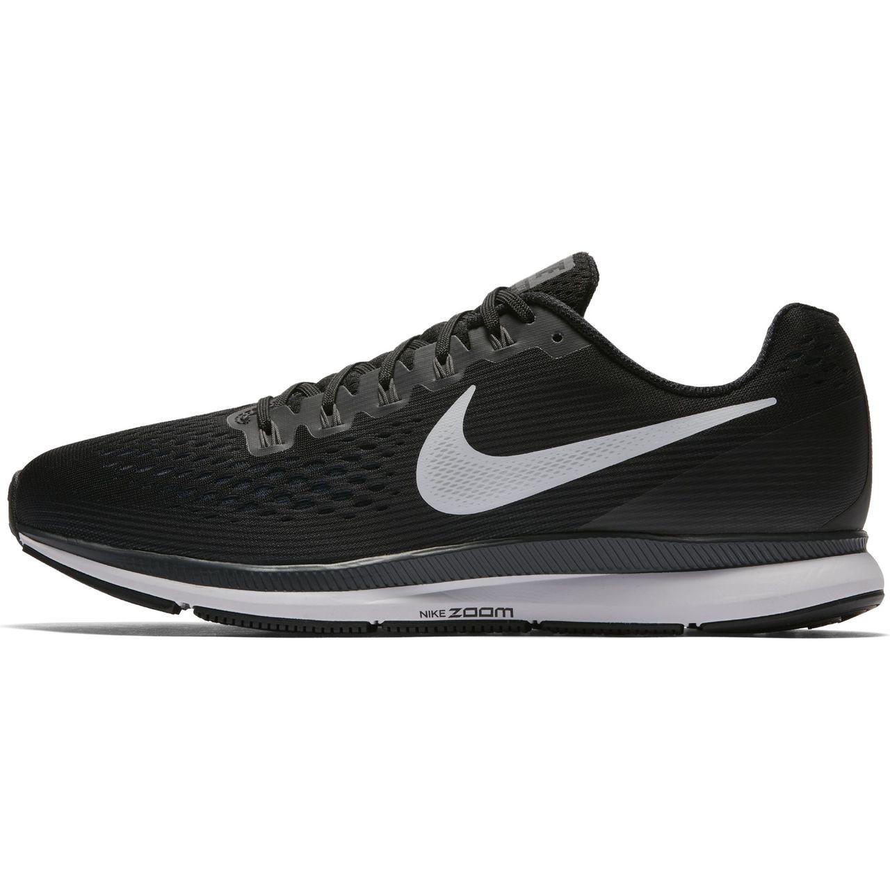 Convencional Espolvorear Poner a prueba o probar  Nike Men's Air Zoom Pegasus 34 - Black/White