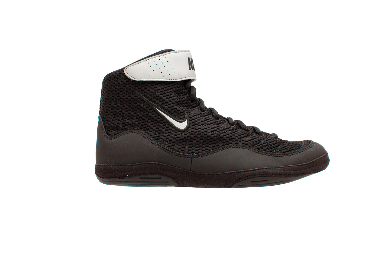 nike black and silver