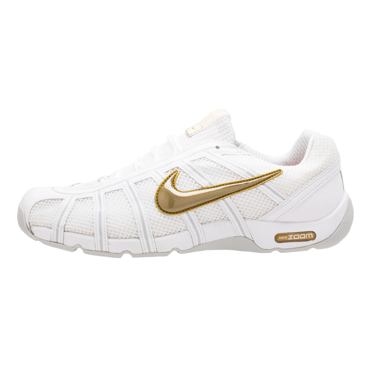 Nike Air Zoom Fencer Limited Edition White Metallic Gold