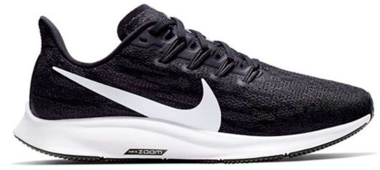 Fondo verde Mediana Emociónate  Nike Men's Air Zoom Pegasus 36 - Black/White/Grey
