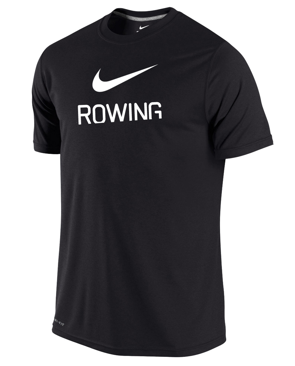 7a133d56f Nike Men's Dri-Fit Rowing Shirt - Black - Athlete Performance Solutions