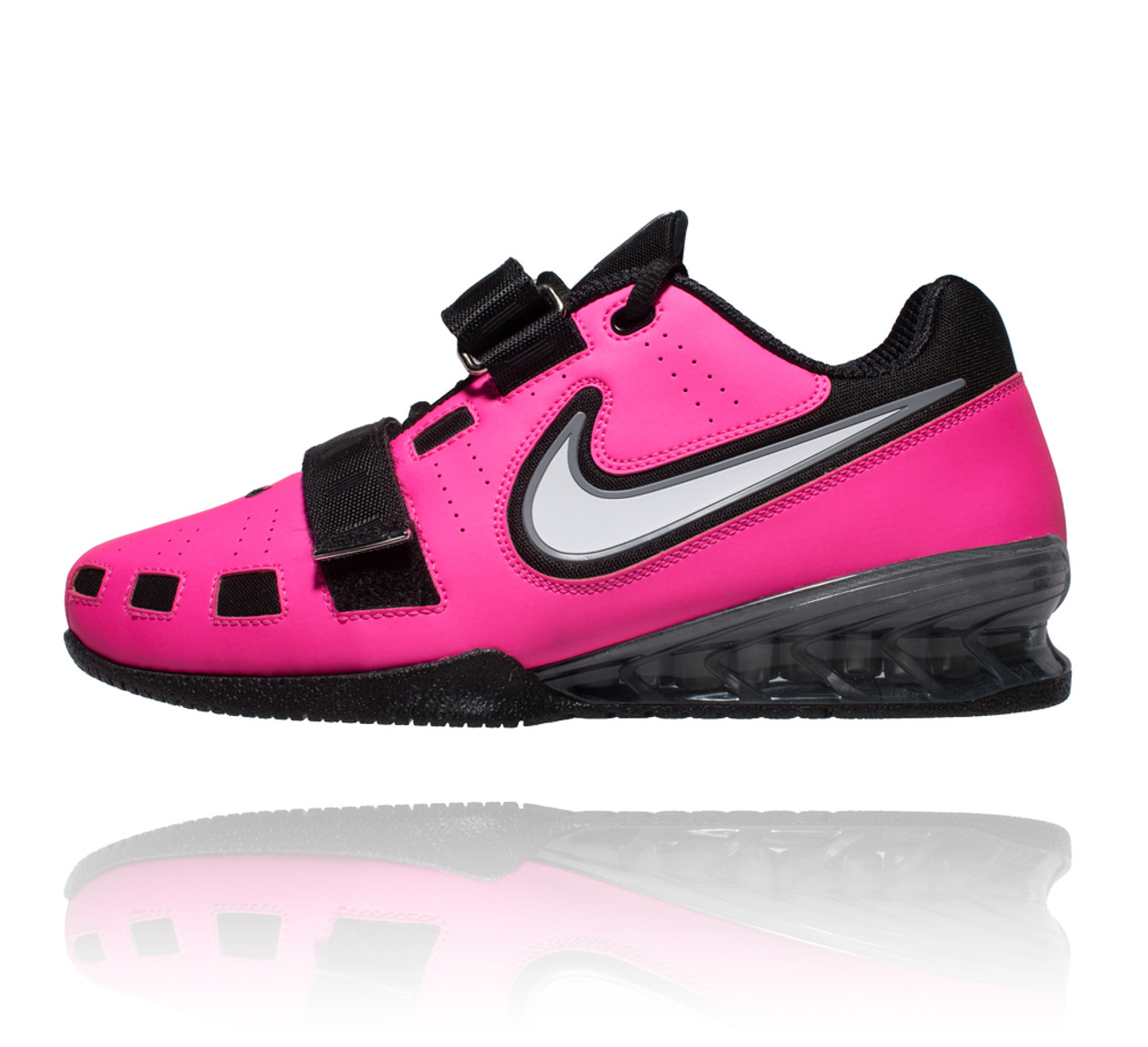 a0f82dc0847ce Nike Romaleos 2 Weightlifting Shoes - Pink Blast White Blk Cool Grey