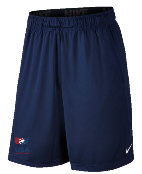 Nike Men's USAWR 2 Pocket Fly Short - Navy/Red/White/Navy
