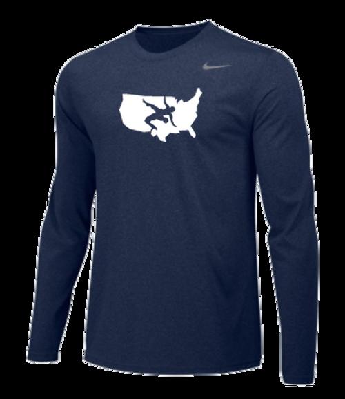 ad6e4211c Nike Men's USAWR Team Gameday Polo - Black/Red/White/Navy