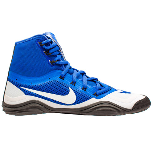 Nike Hypersweep Wrestling Shoe - Royal Blue White Black 7d16974bf