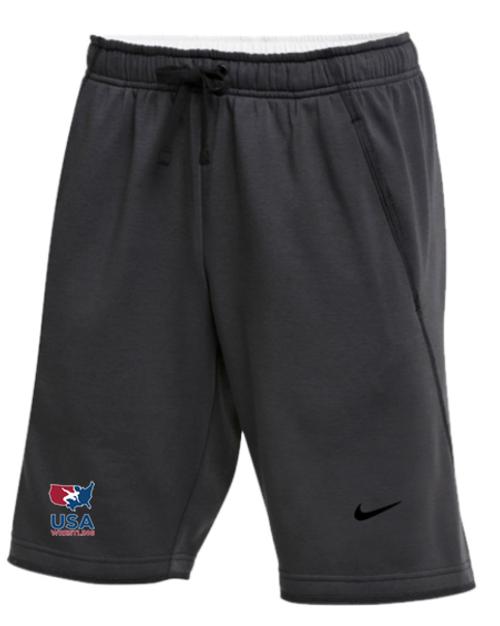 Nike Men's USAWR Flux Shorts - Grey/Red/White/Navy