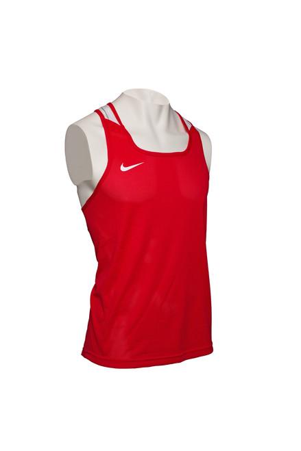 Nike Boxing Tank - Scarlet / White