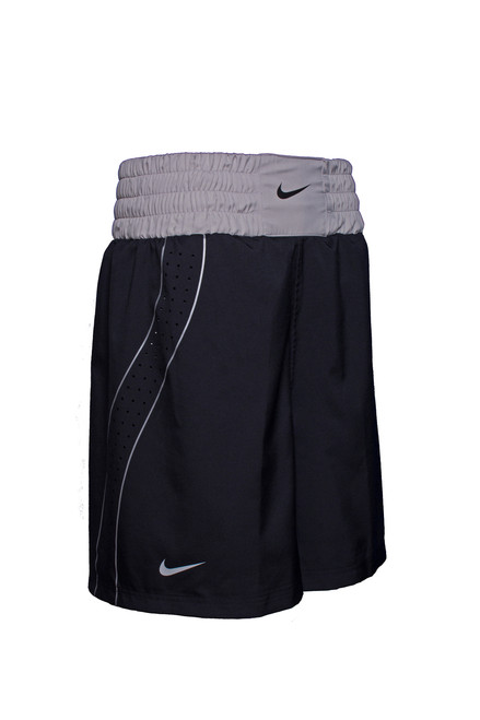 classic fit 2dfd5 f4058 Nike Boxing Short - Black   Pewter