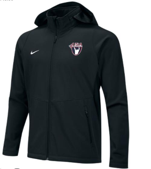 Nike Men's USAW Sphere Hybrid Jacket - Black/White