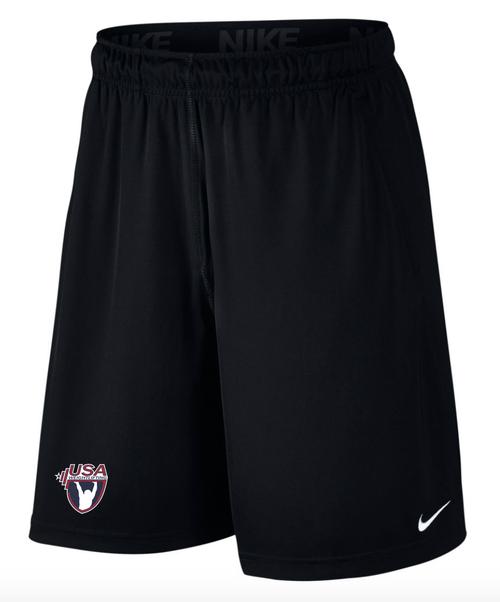 Nike Men'sUSAW 2 Pocket Fly Short - Black/White