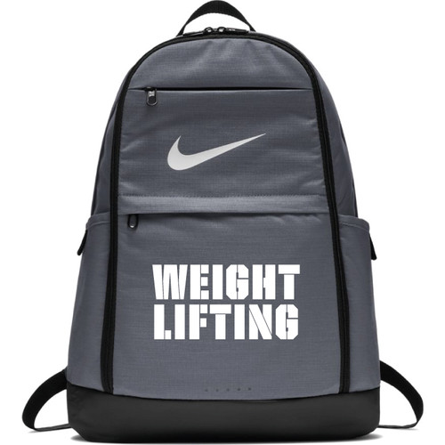 Nike Weightlifting Brasilia Backpack - Grey/White