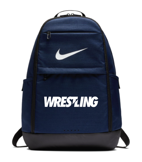 Nike Wrestling Brasilia Backpack - Navy/White