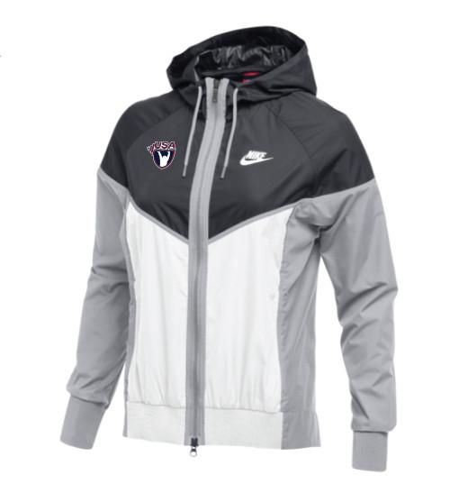 Nike Women's USAW Windrunner Jacket - Anthracite/White