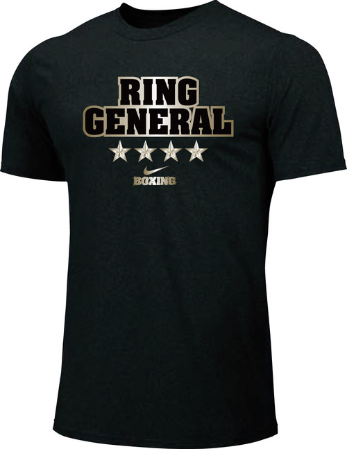 Nike Men's Boxing Ring General Cotton Tee - Black