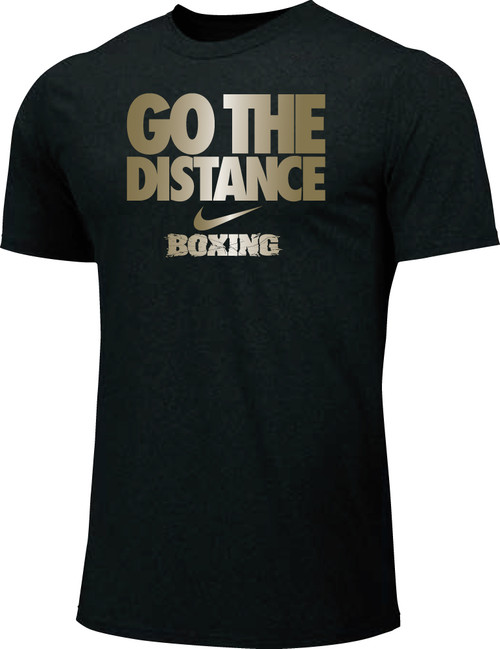Nike Youth Boxing Go The Distance Cotton Tee - Black