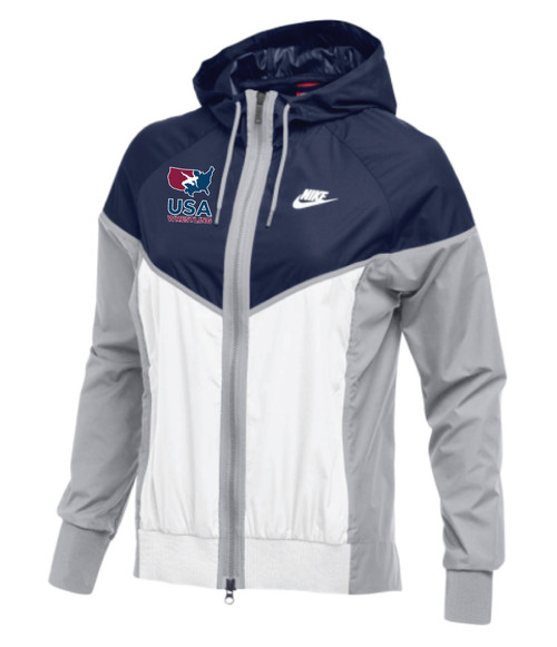 Nike Women's USAWR Windrunner Jacket - Navy