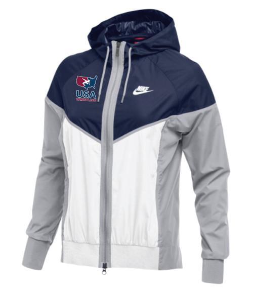 Nike Women's USAWR Windrunner Jacket - Navy