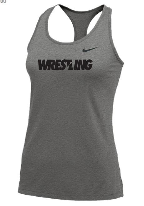 Nike Women's Wrestling Balance Tank - Grey