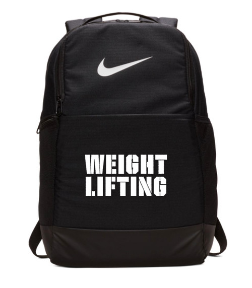 Nike Weightlifting Brasilia Backpack - Black/White