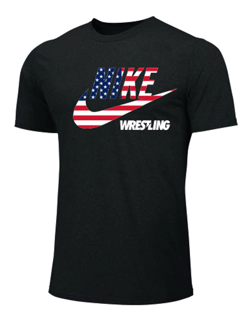 Nike Youth Wrestling Clark Tee - Black