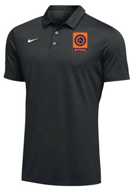 Nike Men's UWW Referee SS Polo - Black