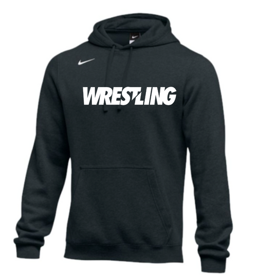 Nike Men's Wrestling Club Fleece Hoodie - Black
