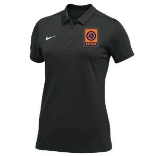 Nike Women's UWW Referee SS Polo - Black