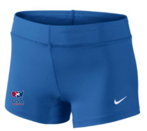 Nike Women's USAWR Performance Game Short - Royal