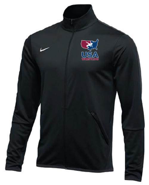 Nike Men's USAWR Epic Jacket  - Black/Red/White/Navy
