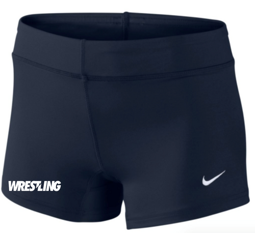 Nike Women's Wrestling Performance Game Short - Navy/White