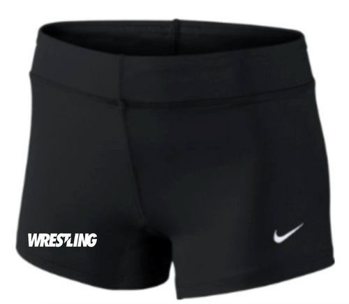 Nike Women's Wrestling Performance Game Short - Black/White