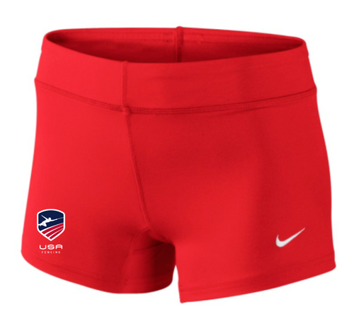 Nike Women's USAF Performance Game Short - Scarlet/Red/White/Blue