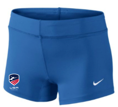 Nike Women's USAF Performance Game Short - Royal