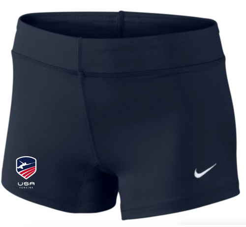 Nike Women's USAF Performance Game Short - Navy/Red/White