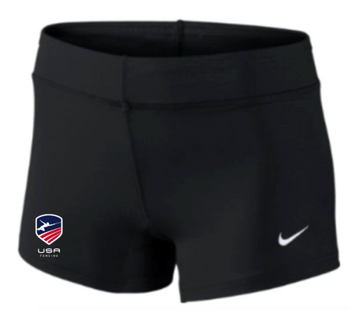 Nike Women's USAF Performance Game Short - Black/Red/White/Blue