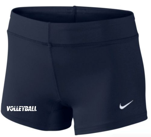 Nike Women's Volleyball Performance Game Short - Navy