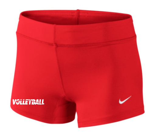 Nike Women's Volleyball Performance Game Short - Scarlet